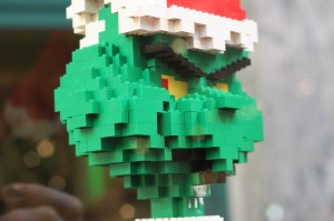 You're a mean one, Mr (Lego) Grinch