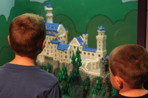 Checking out the Lego castles